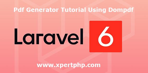 pdf generator tutorial using dompdf