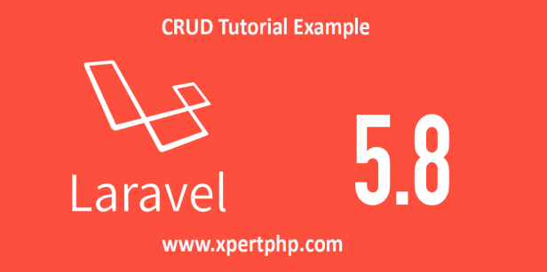 Laravel 5.8 crud tutorial example