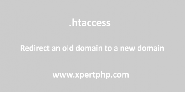 Redirect an old domain to a new domain