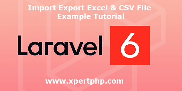 Import Export Excel & Csv file example tutorial