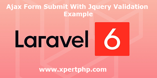 ajax form submit with Jquery validation example