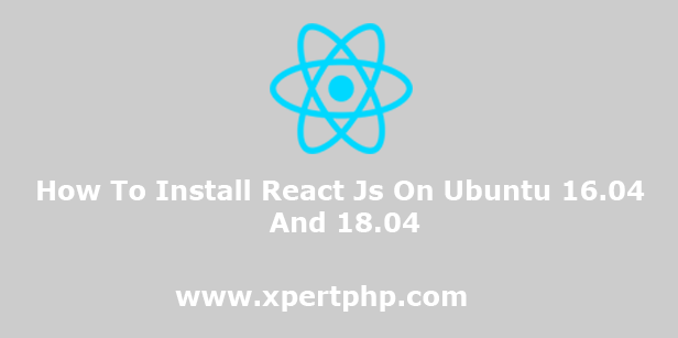 How To Install React Js On Ubuntu 16.04 And 18.04