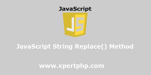 JavaScript String Replace Method