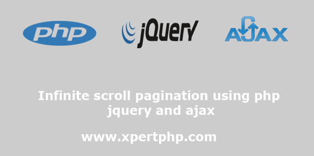 Infinite scroll pagination using php jquery and ajax